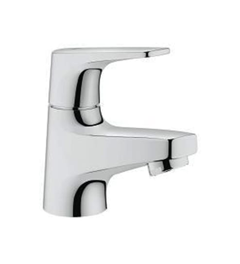 Buy Grohe Bauflow Chrome Brass Cold Water Basin Tap (Model: 32957000 ...