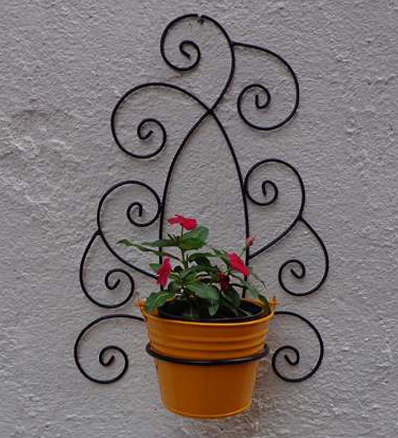 buy green gardenia wrought iron tuscan wall bracket with met