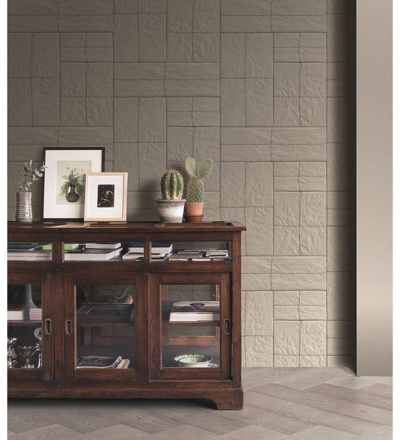 Grey Non Woven Fabric Crispy Paper 21 x 394 Inch Wallpaper by Marshalls