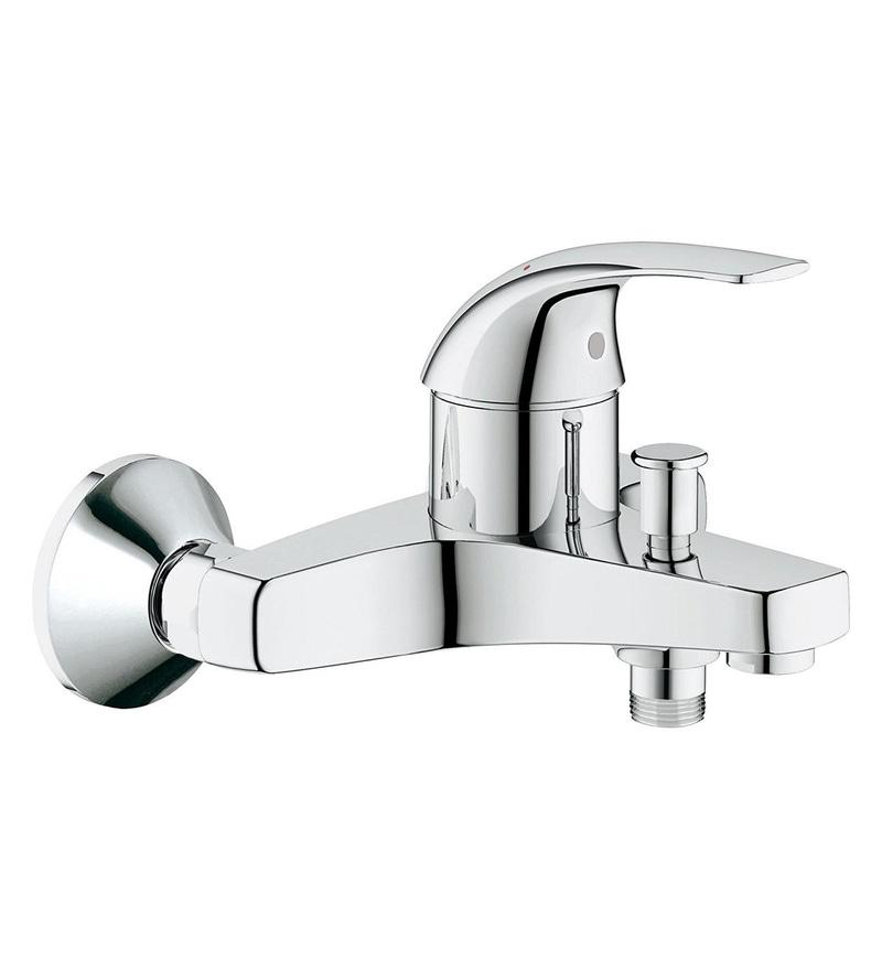 Grohe Baucurve Silver Brass Single Lever Bath Mixer (Model: 32806000)