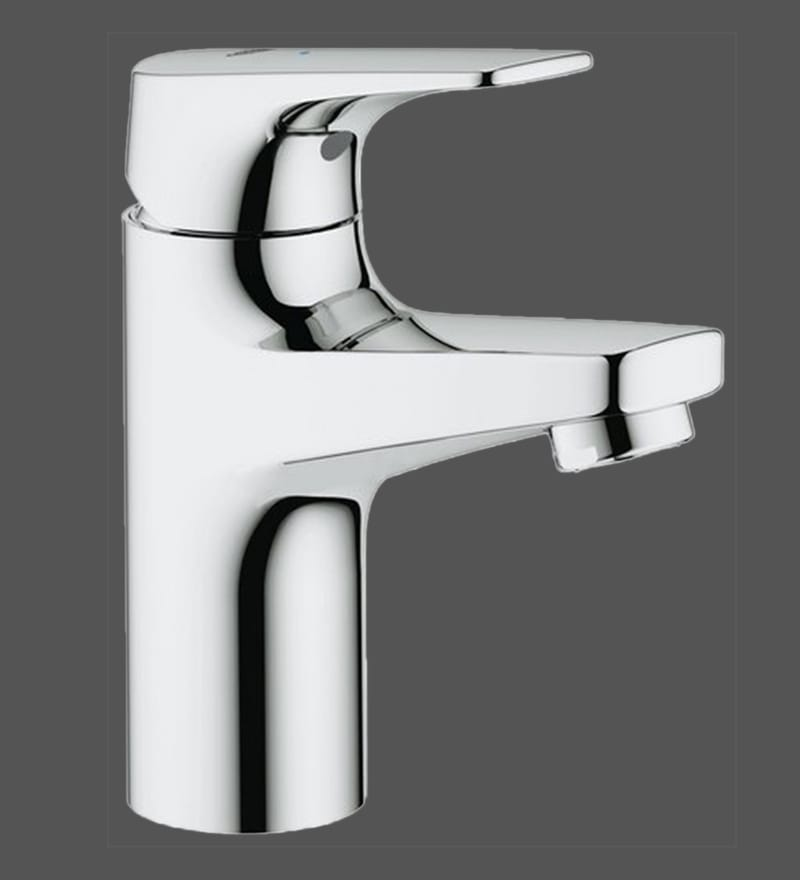 Buy Grohe Bauflow Chrome Brass Cold Water Basin Tap (Model: 32813000 ...