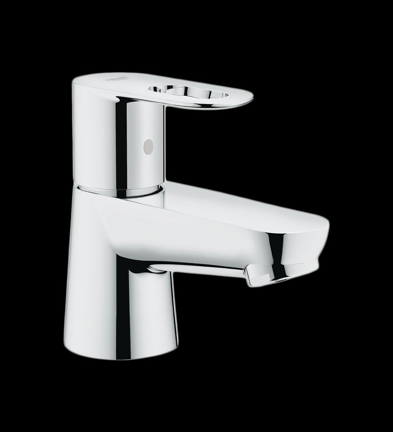 Buy Grohe Bauloop Brass Chrome Basin Tap Online - Basin Taps - Basin ...