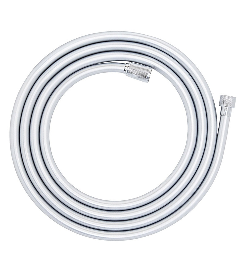 Grohe Silver Flex Chrome Hose with Swivel Connector (Model: 28388000)
