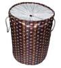 Gran Polyester & PVC 20 L Multicolour Foldable Laundry Basket