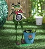 Solar Frog Planter by Green Girgit
