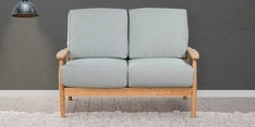 Guarulhos Two Seater Sofa in Grey Colour