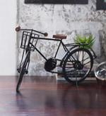 Hanumant Black Metal Iran Cycle Showpiece