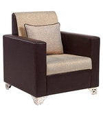 Harbour One Seater Sofa in Brown Colour