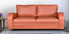 Hallie Three Seater Sofa in Tan Brown Colour