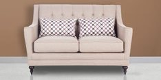 Hamsphire Two Seater Sofa in Beige Colour