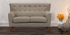 Havana Two Seater Sofa in Ecru Colour