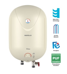 Havells Puro Turbo Storage Geyser 15 Ltr
