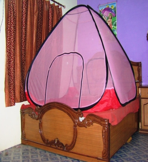 how to make foldable mosquito net