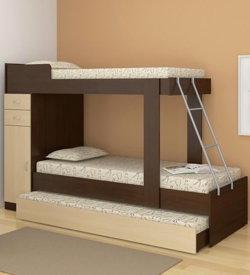 the best attitude 7c02d 3e063 Hannah Storage Bunk Bed with Trundle in Maple & Tobacco by CasaCraft