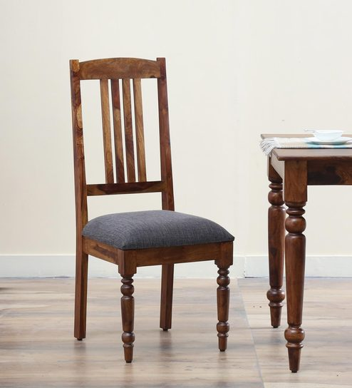 Harleston Solid Wood Dining Chair In Provincial Teak Finish By Amberville