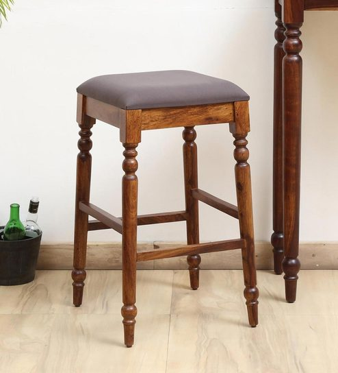 Prime Harleston Solid Wood Bar Stool In Provincial Teak Finish By Amberville Squirreltailoven Fun Painted Chair Ideas Images Squirreltailovenorg