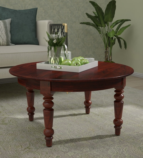 Wooden Coffee Table.Harleston Solid Wood Coffee Table In Honey Oak Finish By Amberville