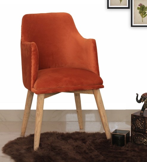 Incredible Harley Arm Chair In Rust Colour By Make Home Happy Ibusinesslaw Wood Chair Design Ideas Ibusinesslaworg