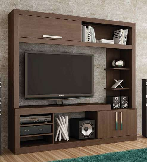 Buy Haruto Entertainment Unit in Tobacco Finish by Mintwud Online ...