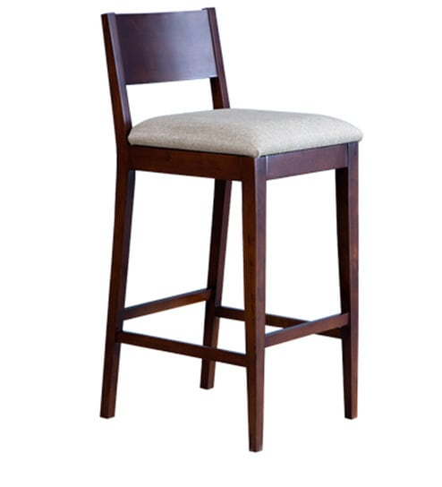 Awe Inspiring Harvey Bar Chair In Wenge Colour By Forzza Machost Co Dining Chair Design Ideas Machostcouk