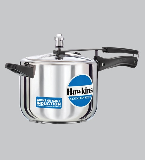 929b39665 Buy Induction Base Stainless-Steel Pressure Cooker- 5 Ltr Online ...