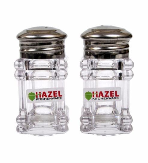 Hazel Square Salt & Pepper Container - Set of 2