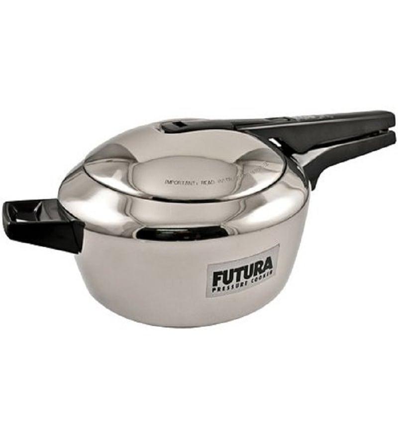 114958efc83 Hawkins Futura Stainless Steel - 5.5 Litre Pressure Cooker by ...