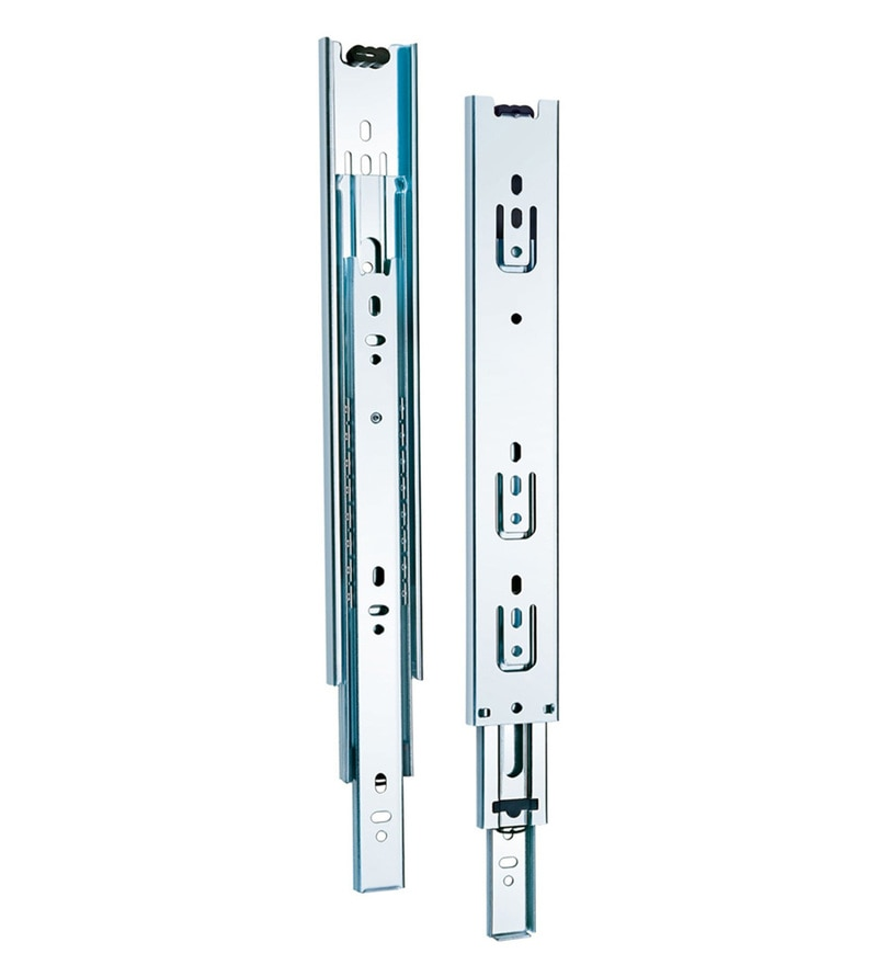 Hafele Stainless Steel Telescopic Channels - Set Of 2