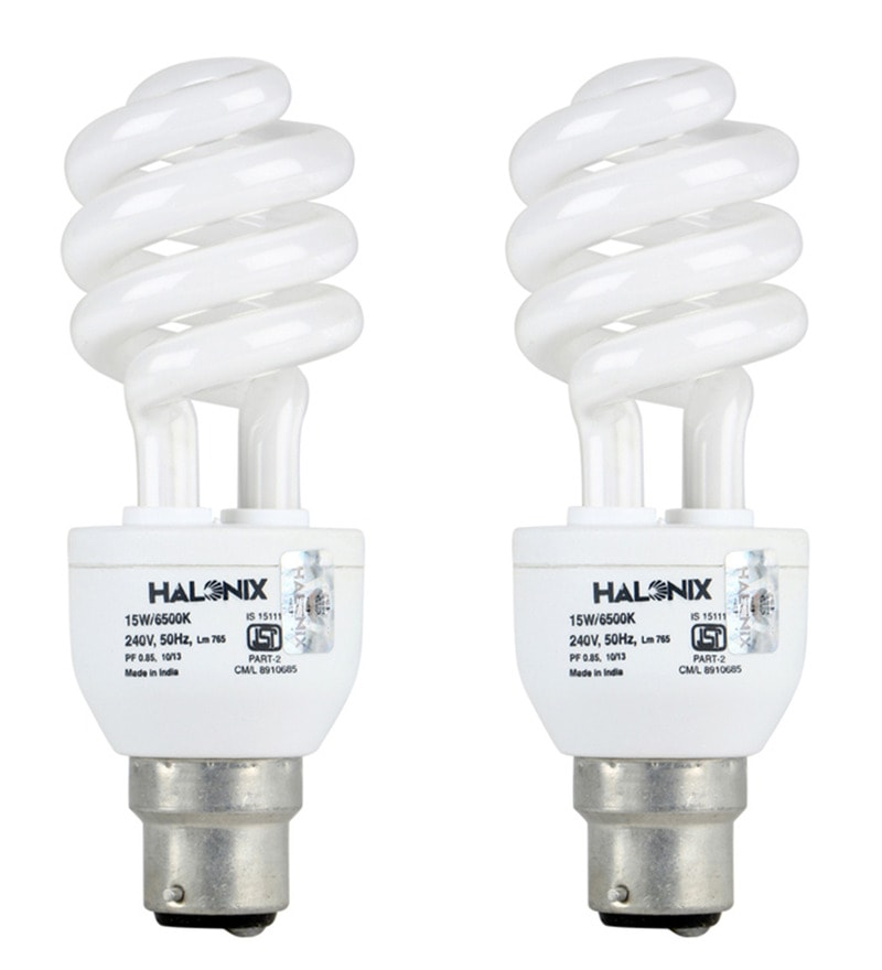 Halonix White 15 W CFL Light - Set of 4