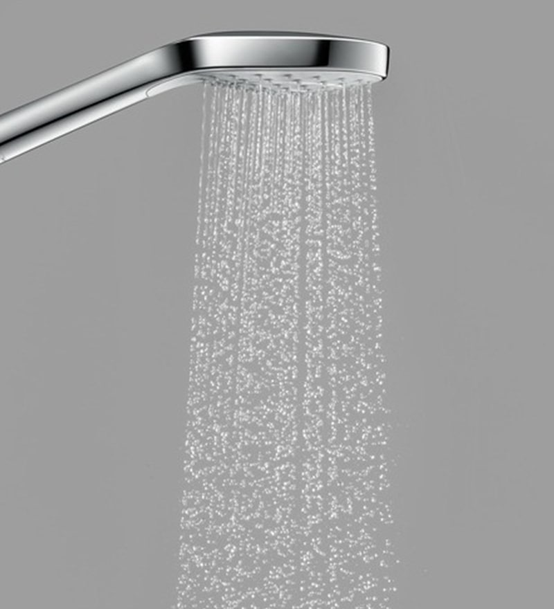 Hansgrohe Series Select E Chrome Brass 27.9 x 12.7 x 7.6 Inch Hand Shower