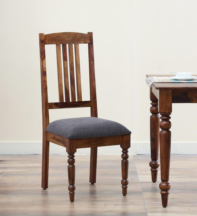 Harleston Dining Chair in Provincial Teak Finish by Amberville
