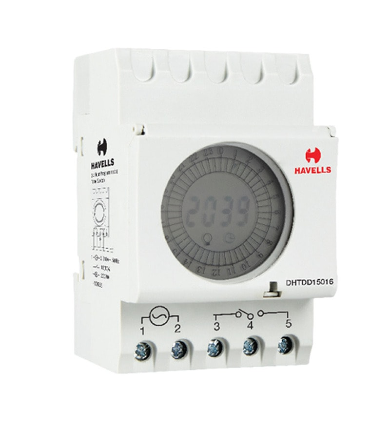 Buy Havells 24 Hour Programmable Time Switch Online