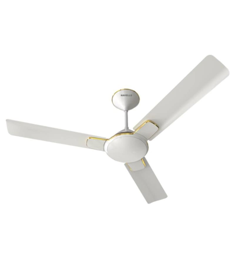 Buy Havells Enticer 1200 Mm Pearl White Gold Ceiling Fan