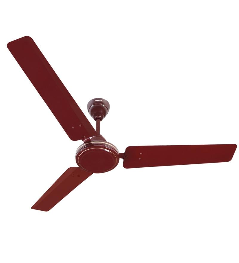 Buy Havells Xp 390 Plus 1200 Mm Brown Ceiling Fan Online