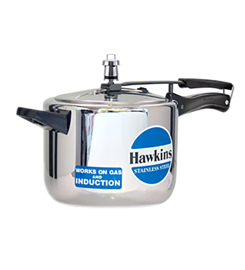 Hawkins Stainless Steel 5 L Pressure Cooker