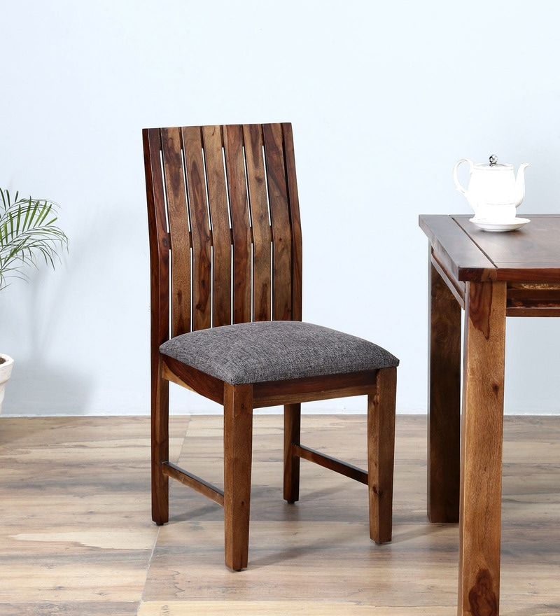 Hays Dining Chair in Provincial Teak Finish by Woodsworth
