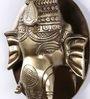 Handecor Ganesha Face Door Knocker with Plate Base