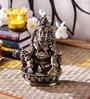 Chintan Kuber Maharaj Idol in Gold by Mudramark