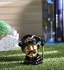Handecor Golden & Black Brass Pirate Pen Stand