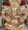 Handecor Multicolour Brass Swastik Ganesha Wall Hanging