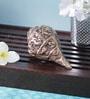 Brown Brass Ganesha Shankh Showpiece by Handecor