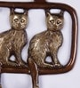 Multicolour Brass Wild Cats Key Holder by Handecor