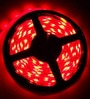 Handicraft Kottage Red Copper Wire 196.8 Inch LED Strip Light with 1 LED Driver