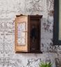 Hanumant Multicolour Solid Wood & Tile Key Holder