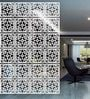 White Acrylic Flowers In Square Room Divider by Planet Decor