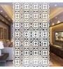 White Acrylic Elegant Leaves Design Room Divider by Planet Decor