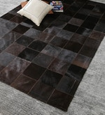 Cola Leather 92 x 64 Inch Hand Made Carpet