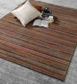 Multicolour Wool 80 x 56 Inch Indian Hand Knotted Carpet