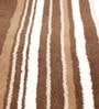 Beige & Brown Wool 80 x 56 Inch Hand Woven Loom Knotted Carpet by HDP