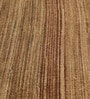 HDP Brown Wool 80 x 56 Inch Hand Woven Flat Weave Loom Knotted Carpet